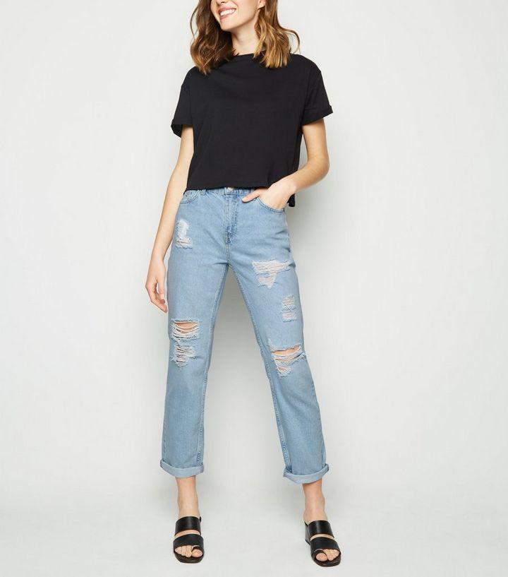 boyfriend jeans como combinarlos