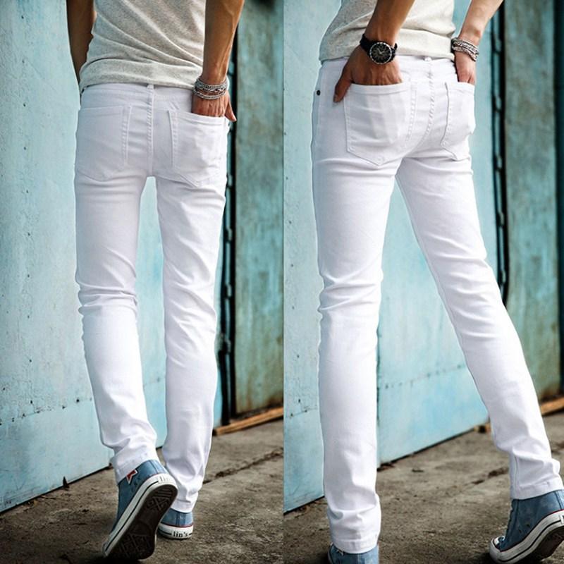 jeans blancos de verano